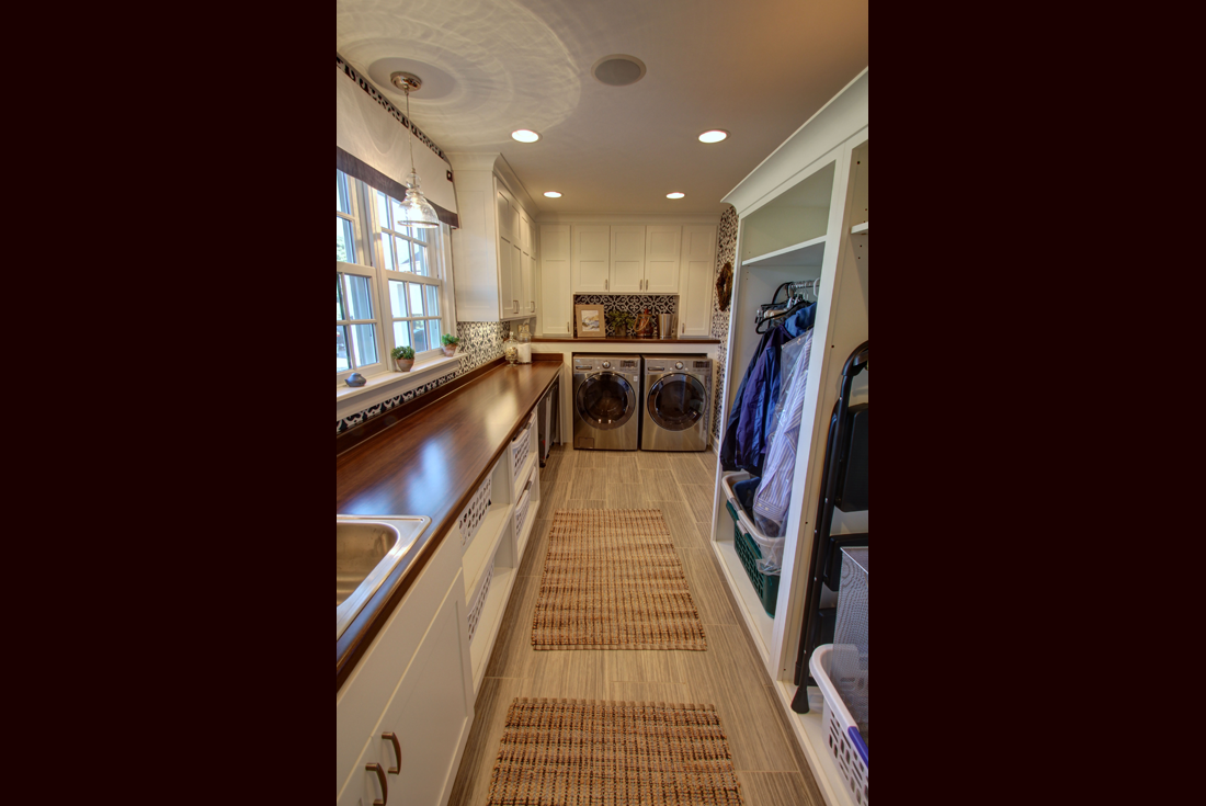farmhouse remodel addition laundry room