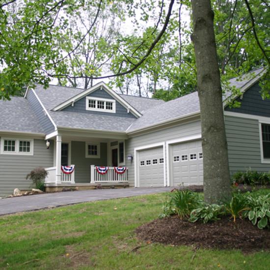 craftsman cottage custom home