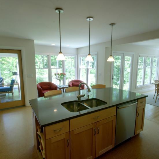 new england cottage kitchen