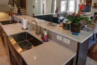 The Right Height for a Kitchen Island Countertop/Breakfast Bar